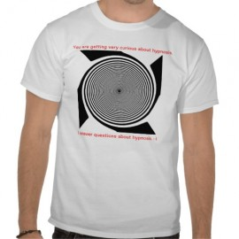 Hypnosis Tee - I Answer - $18.95